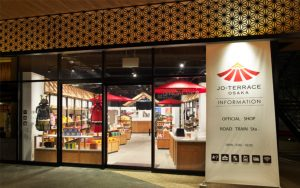JO-TERRACE OSAKA Information and Official Shop
